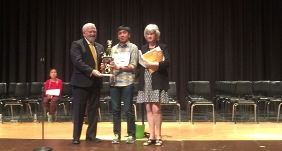 Delaware State Spelling Bee 2nd place winner