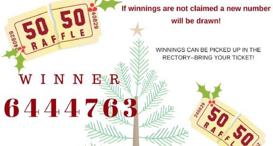 IHM Christmas Bazaar 50/50