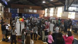 IHM held its 1st annual Science Fair for 5th, 6th, 7th and 8thgraders.