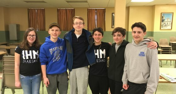 Congratulations to the IHM It's Academic team
