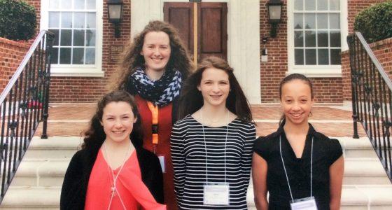 IHM Middle School's Delegation