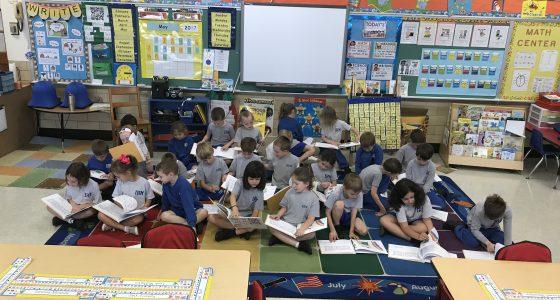 Ms. Mehaffey's Kindergarten classroom