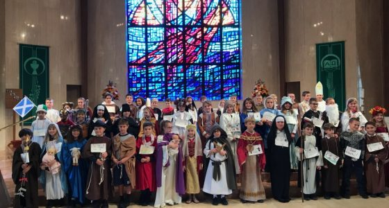 IHM 3rd Grade ALL SAINTS DAY MASS