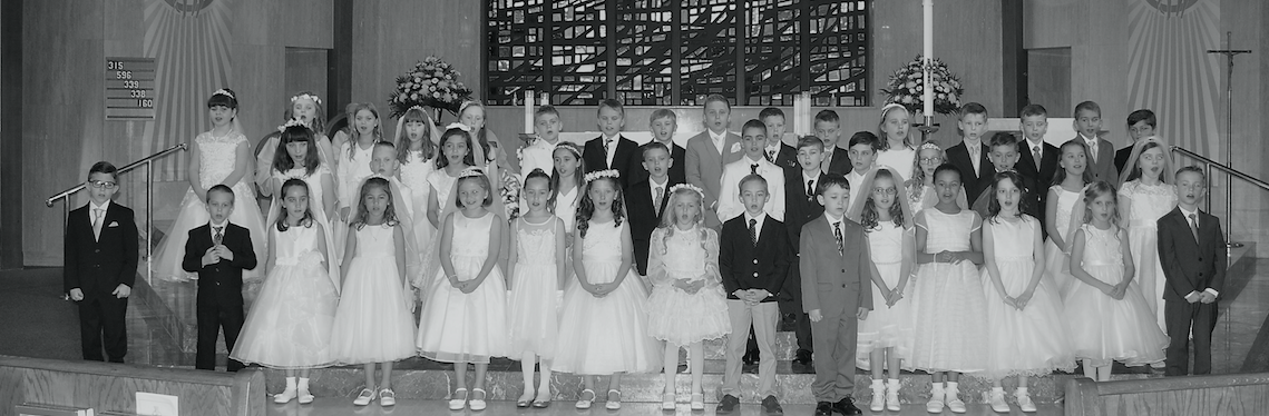IHM First Holy Communion 10:00am Mass
