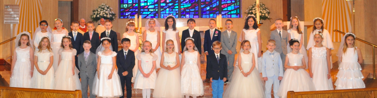 IHM First Holy Communion 12:30 pm Mass