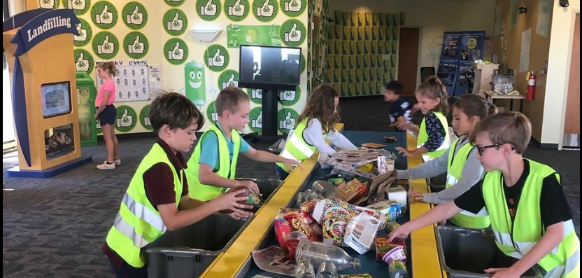 IHM 3rd Graders visited the Delaware Solid Waste Authority Recycling Center!