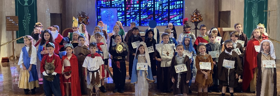 IHM 3rd Grade All Saints Mass