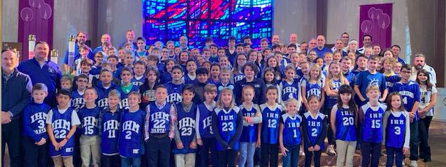 IHM Basketball Mass 12/8/19