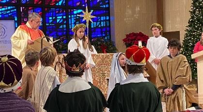 IHM School Epiphany 1/6/20 Mass