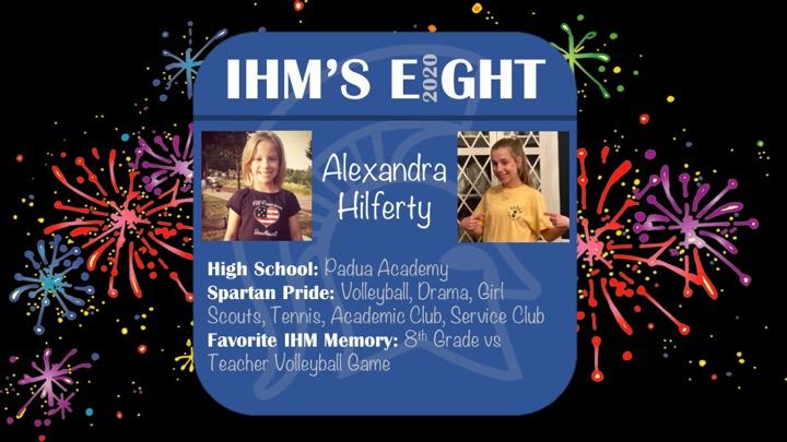 Congratulations!! Alexandra Hilferty