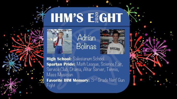 Congratulations!! Adrian Bolinas