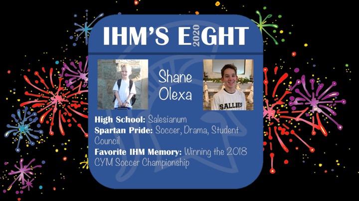 Congratulations!!  Shane Olexa