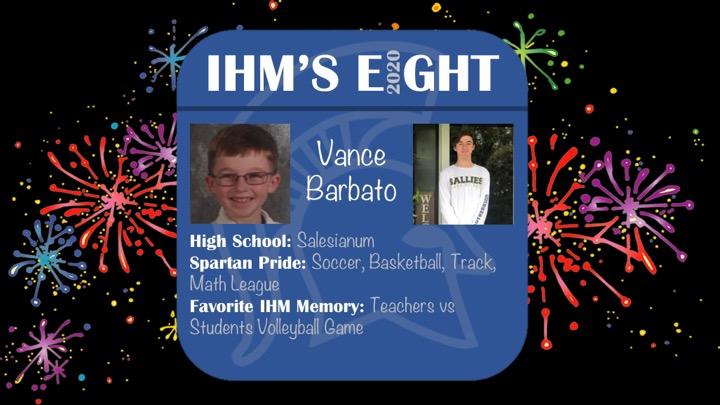 Congratulations!! Vance Barbato