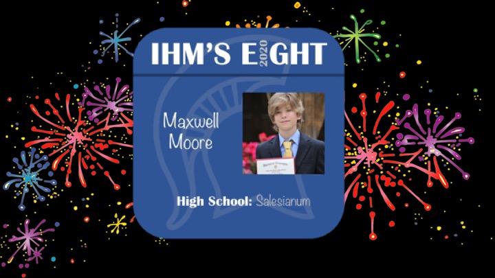Congratulations!! Maxwell Moore